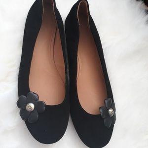 Ugg Thea Poppy Ballet Flats 9.5 Black